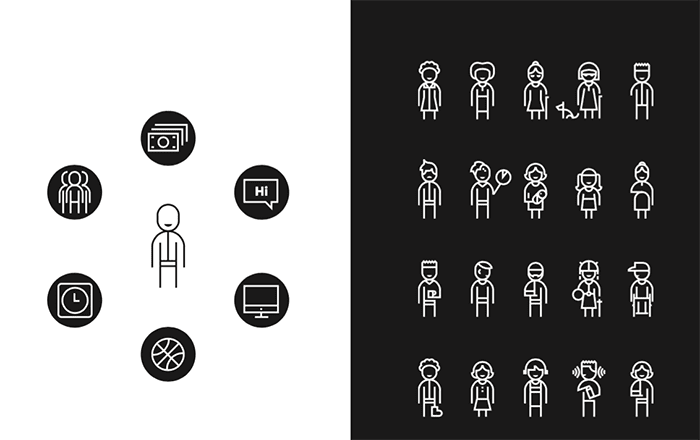 Microsoft's Inclusive Design Toolkit explains who we design for and who gets excluded