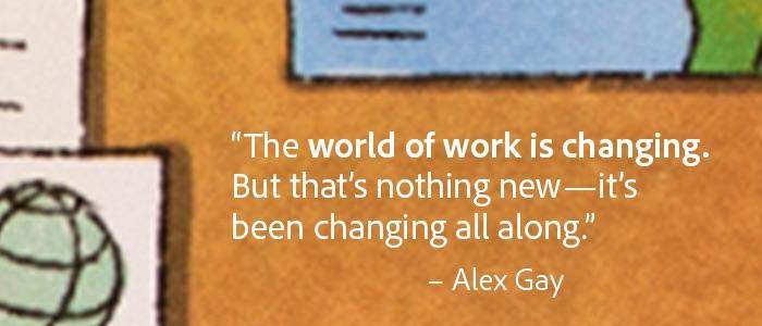 quote about the changing world of work.