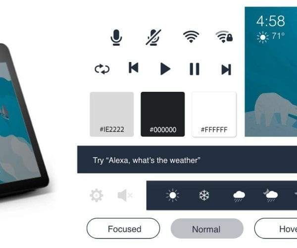 Includes APL! The Amazon Alexa VUI kit empowers designers by giving them the best starting point when venturing into voice-enabled design in Adobe XD.