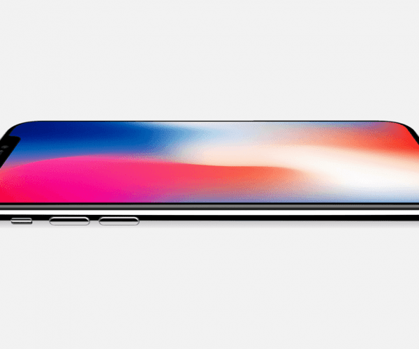 Photograph of iPhone X