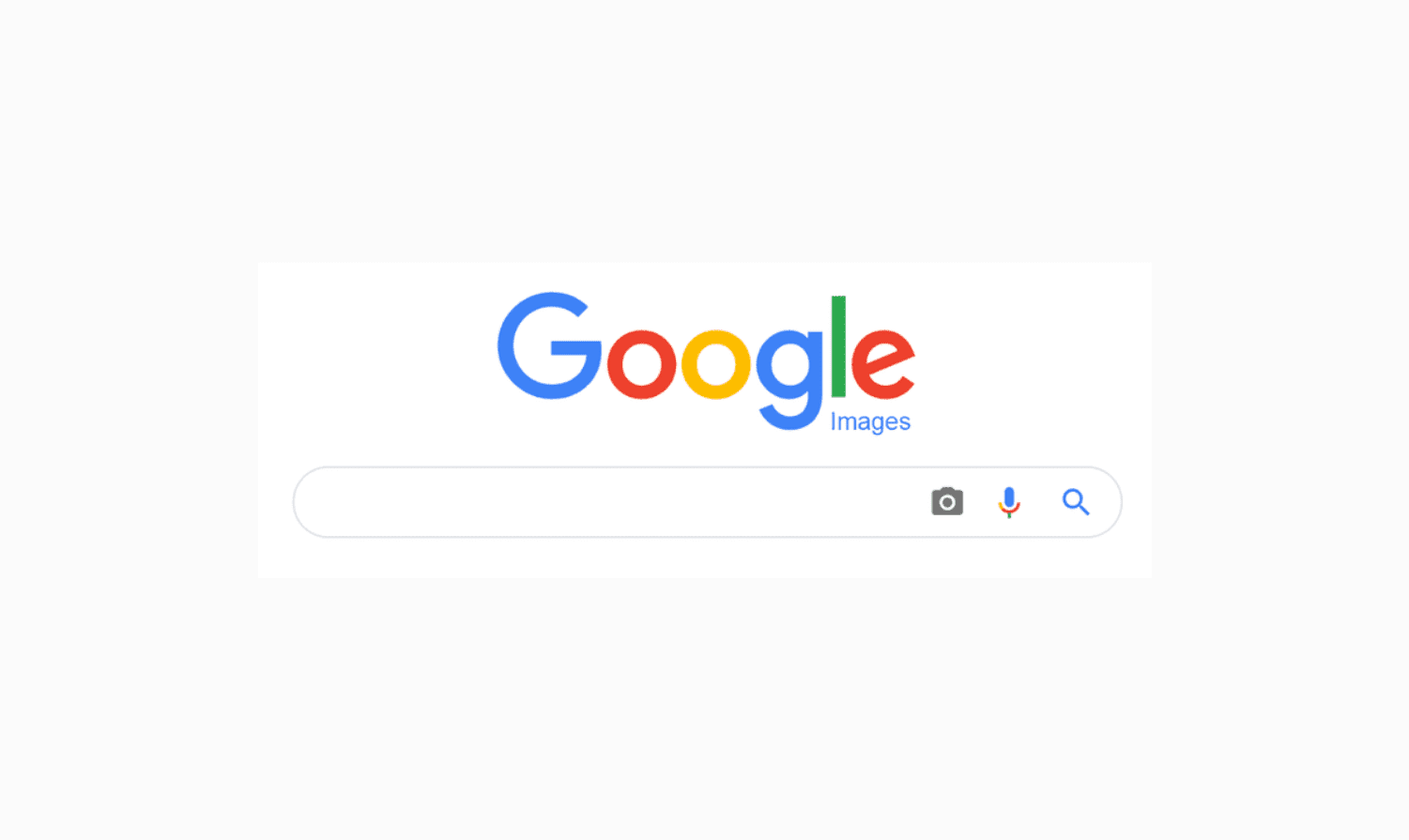 Google homepage with search bar.