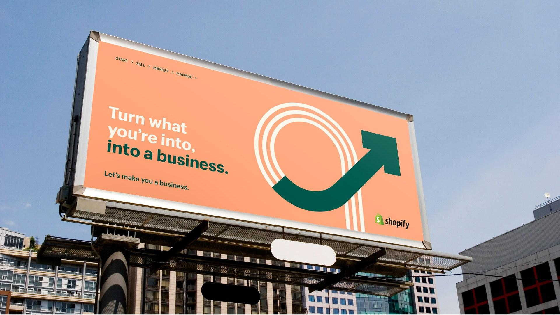 Shopify billboard