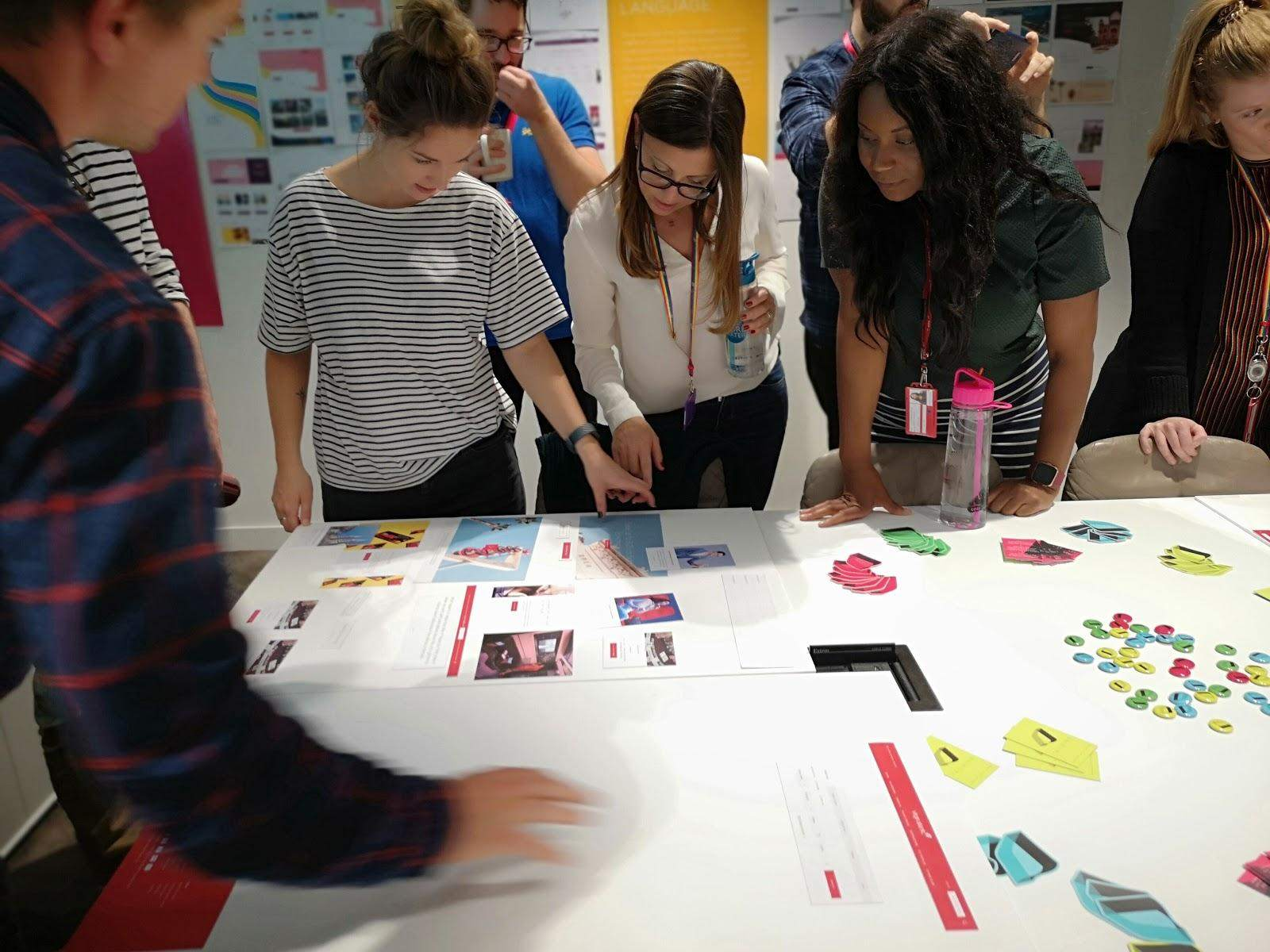 Virgin Atlantic designers discuss and showcase design ideas.