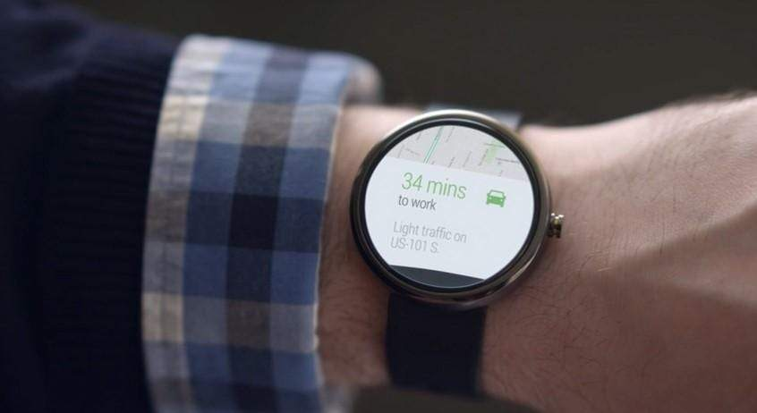 Google Now with Android Watch