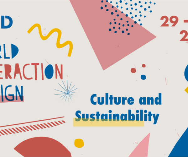 Promotional illustration for World Interaction Design Day 2020: Culture & Sustainability, hosted on September 29.