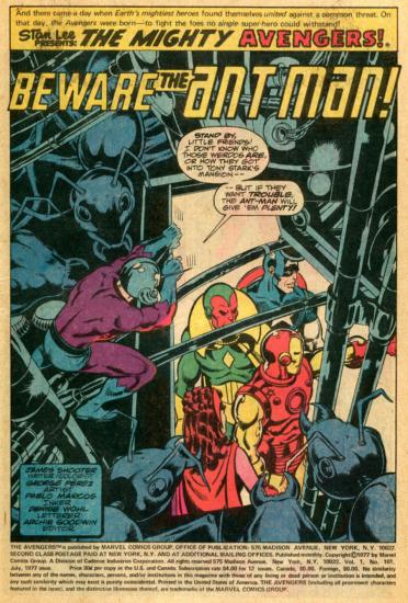 スプラッシュ画面の原型はコミックにあった 出典: Comic Book Collectors Club