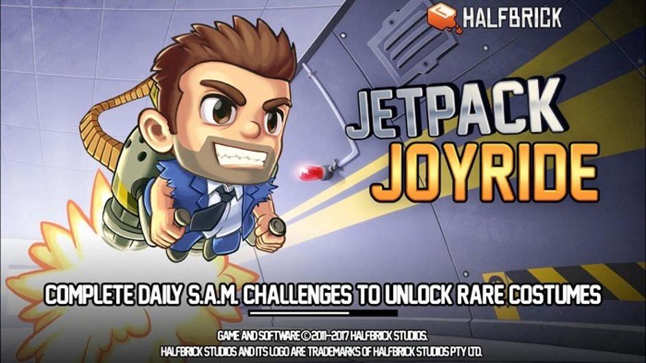 Jetpack Joyrideのスプラッシュ画面はユーザーを魅了する。 出典: Medium.com