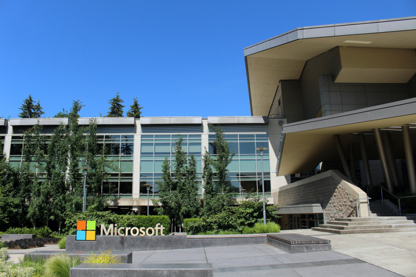 The Microsoft campus is located in Redmond, Washington.